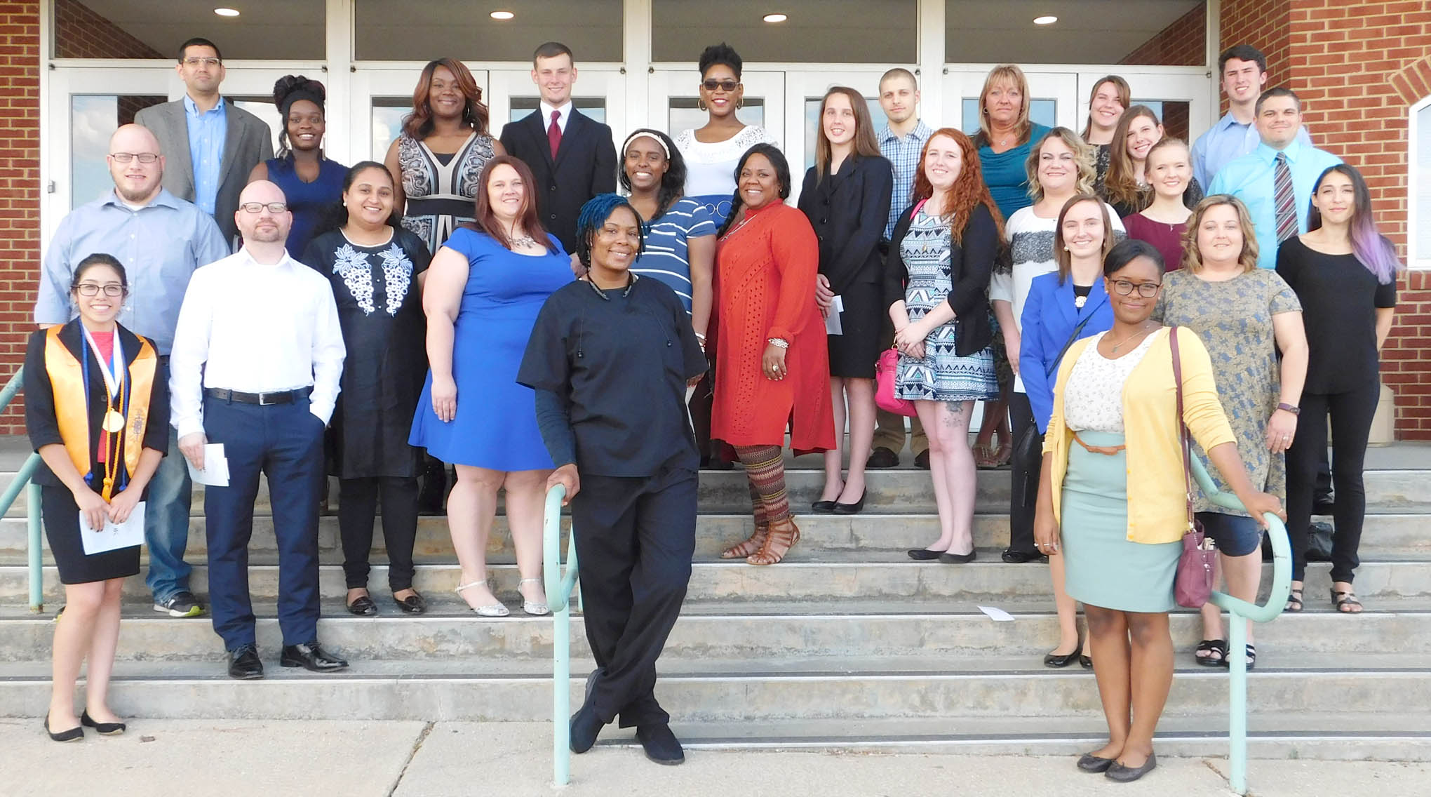 Click to enlarge,  The Central Carolina Community College Phi Theta Kappa International Honor Society recently held its spring induction ceremony.