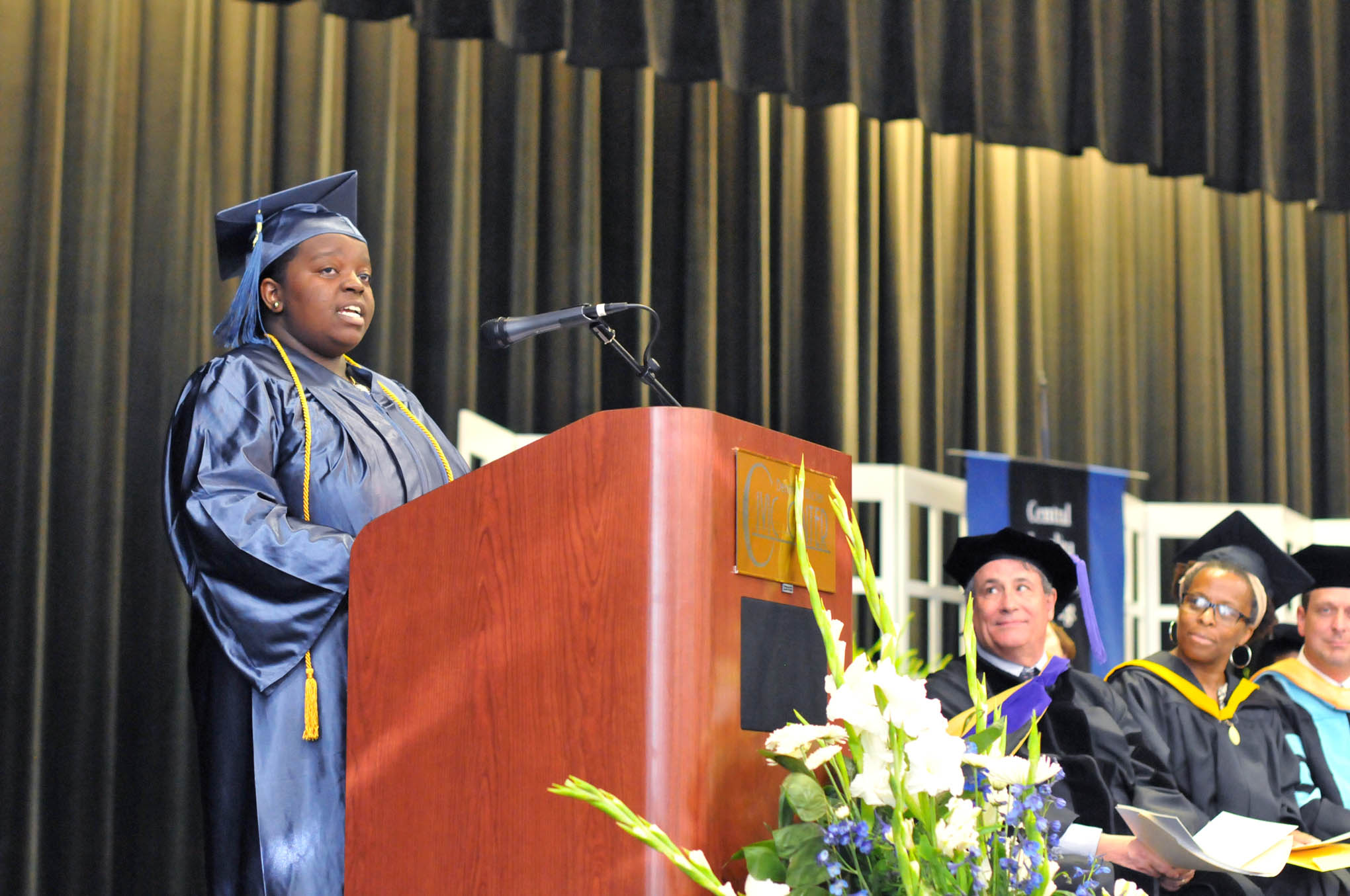 College and Career Readiness graduation held at Central Carolina Community College