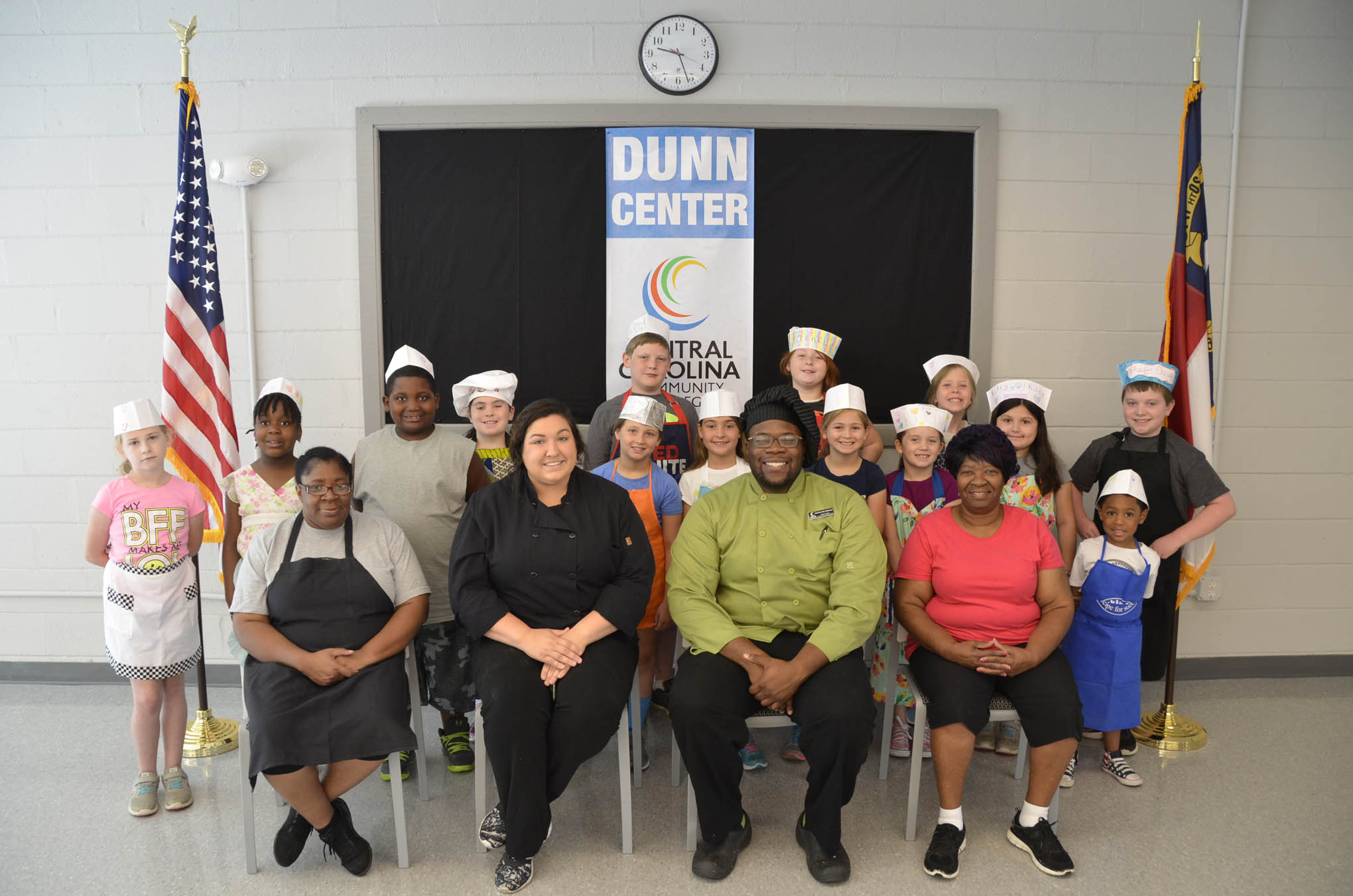 CCCC cooking camps allow kids to create