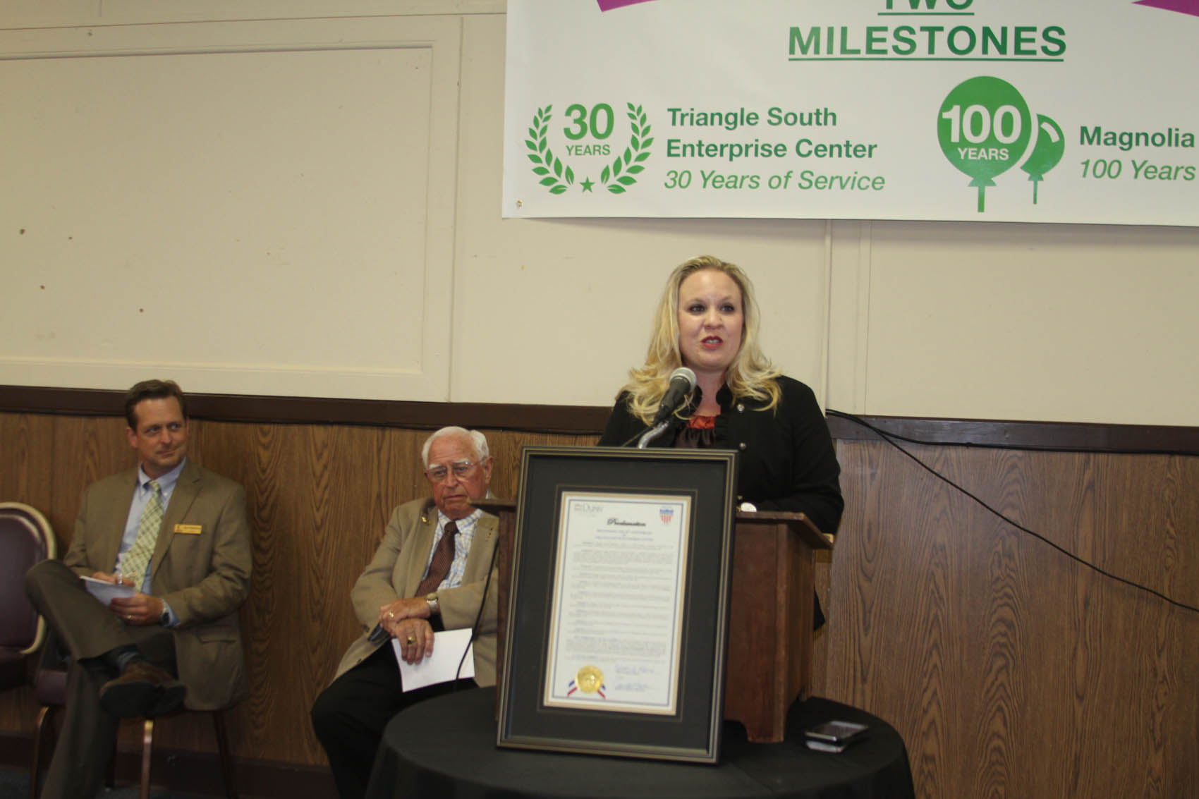 Read the full story, Triangle South celebrates two milestones