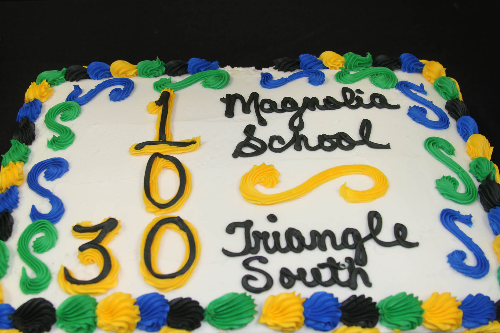 Click to enlarge,  A grand celebration was held on Sept. 20 to mark two milestones - the 30 years of service of the Triangle South Enterprise Center and the 100 years in existence of Magnolia School. Daily Record Photo by Melody Brown-Peyton.