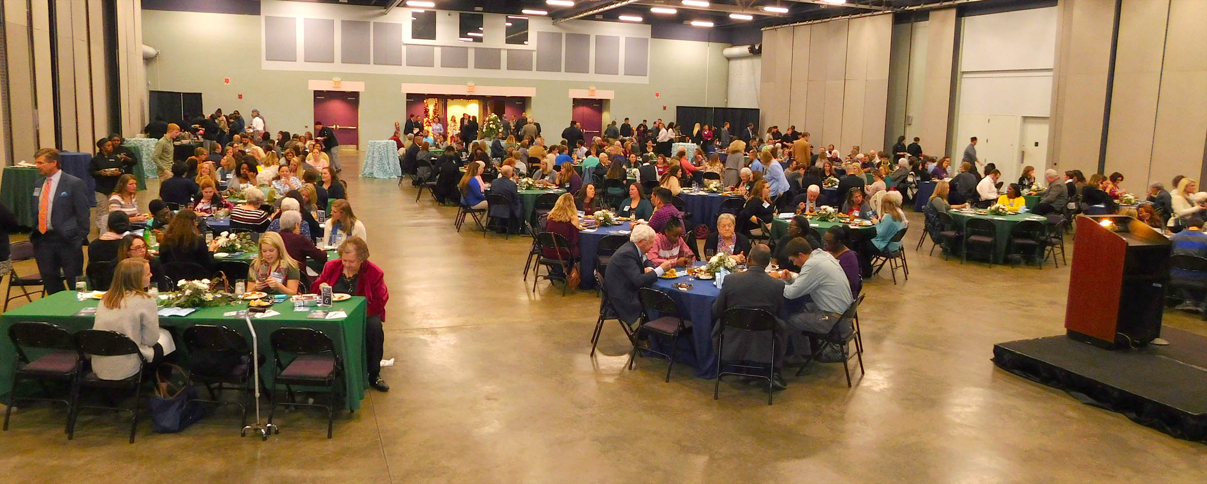 Click to enlarge,  The Central Carolina Community College's Scholarship Luncheon was held on November 15, at the Dennis A. Wicker Civic Center.