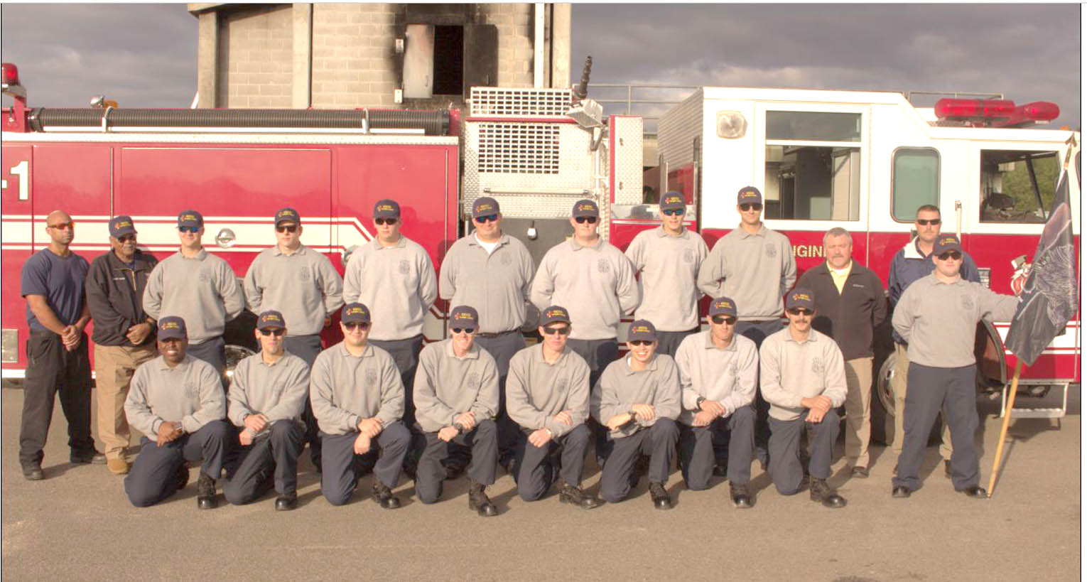 Read the full story, CCCC's Fire Academy holds graduation