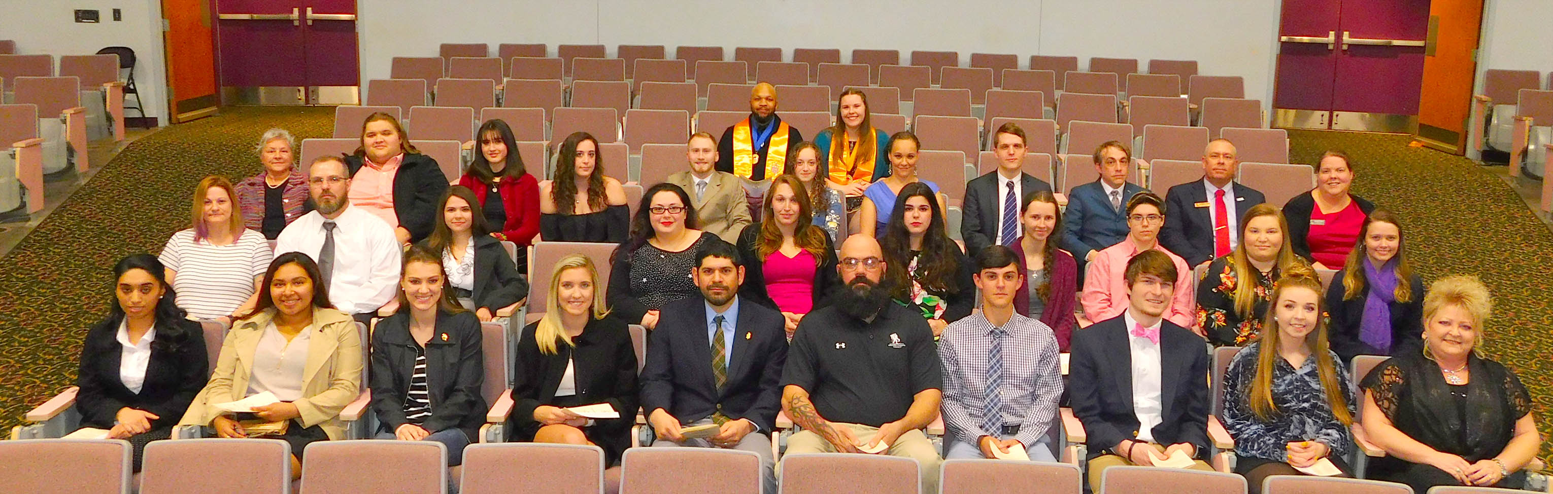 CCCC's Phi Theta Kappa holds induction ceremony