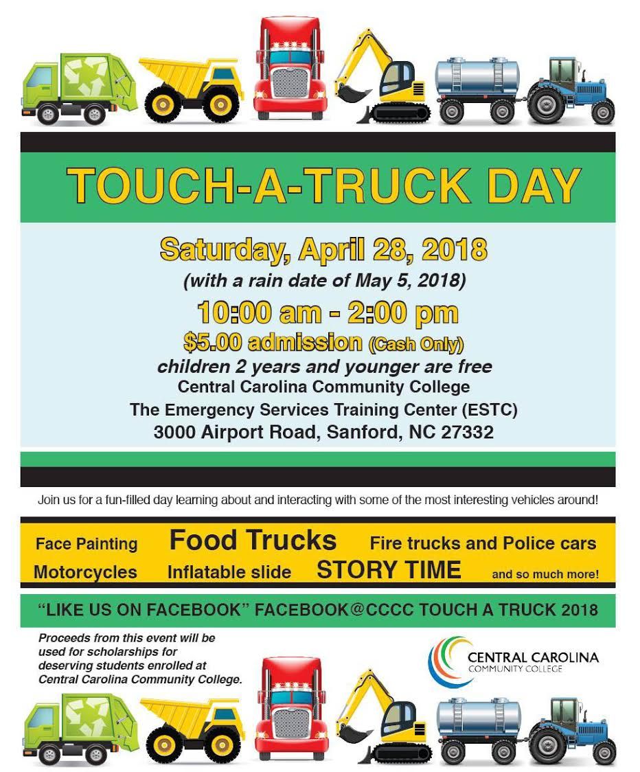 Read the full story, CCCC will host Touch-A-Truck Day