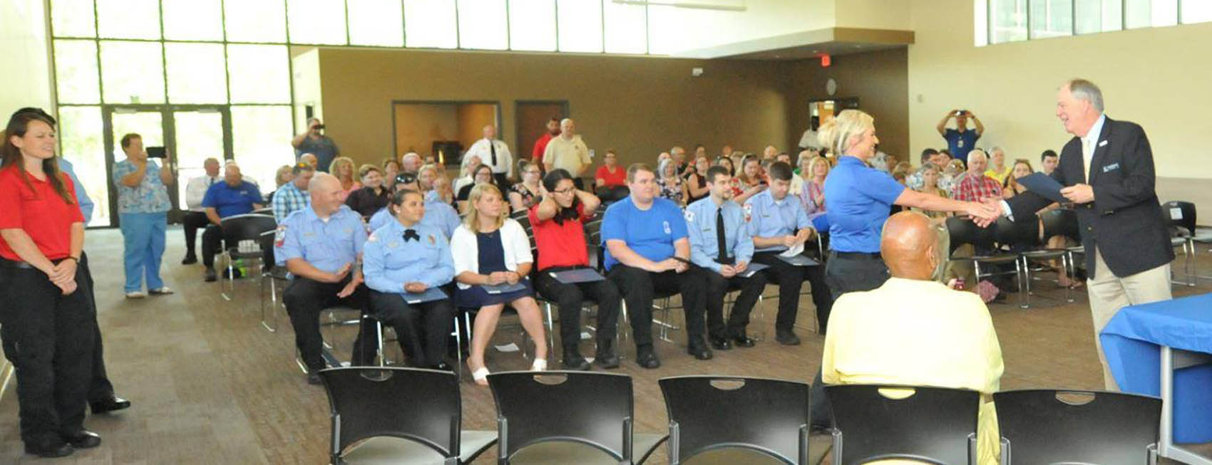 Read the full story, CCCC graduates 60 from EMS program