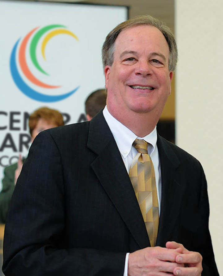 "Click to enlarge,  Dr. T. Eston ""Bud"" Marchant has announced his retirement as President of Central Carolina Community College, effective April 1, 2019."