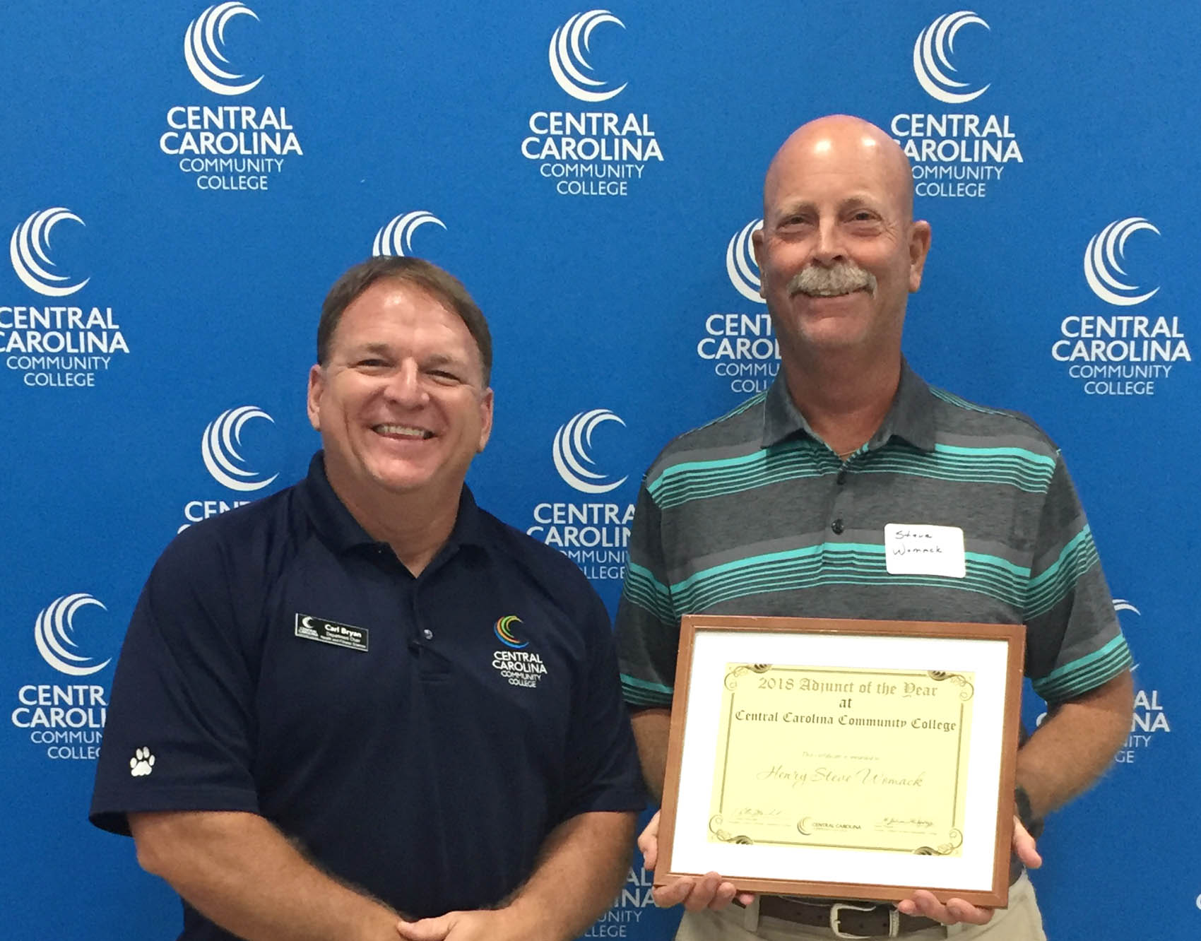 Womack named CCCC Adjunct of the Year