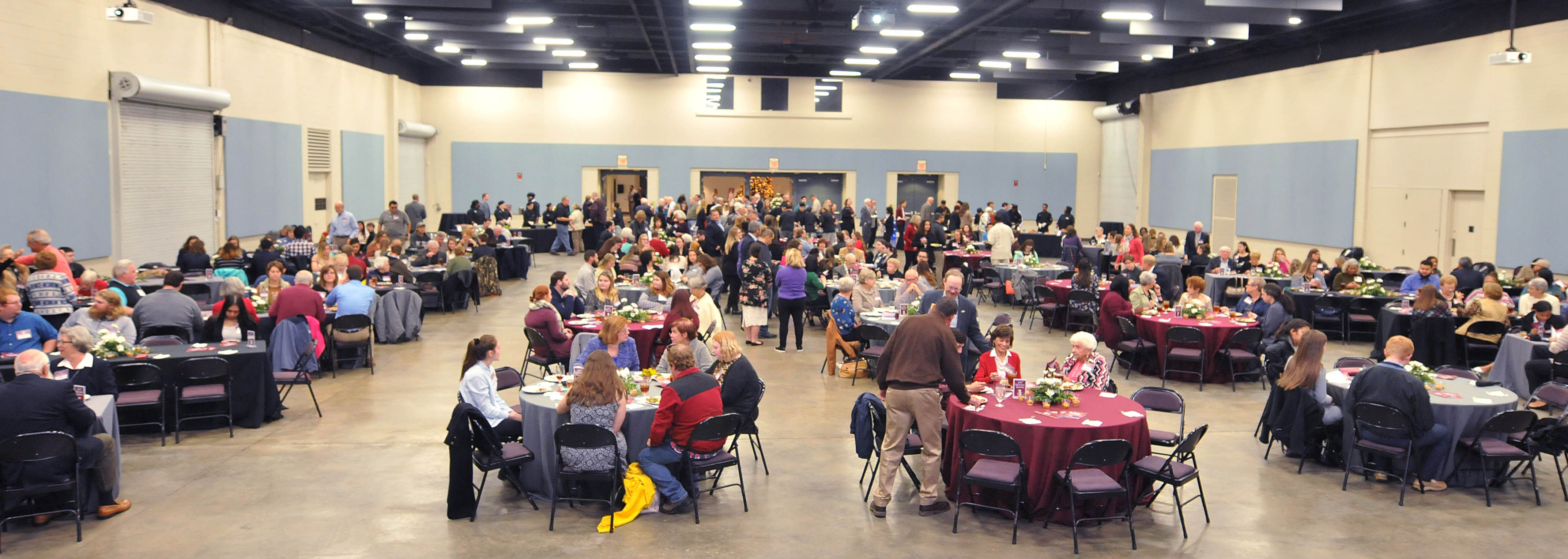 Click to enlarge,  The Central Carolina Community College Foundation Scholarship Luncheon was held on Wednesday, Nov. 14, at the Dennis A. Wicker Civic & Conference Center.