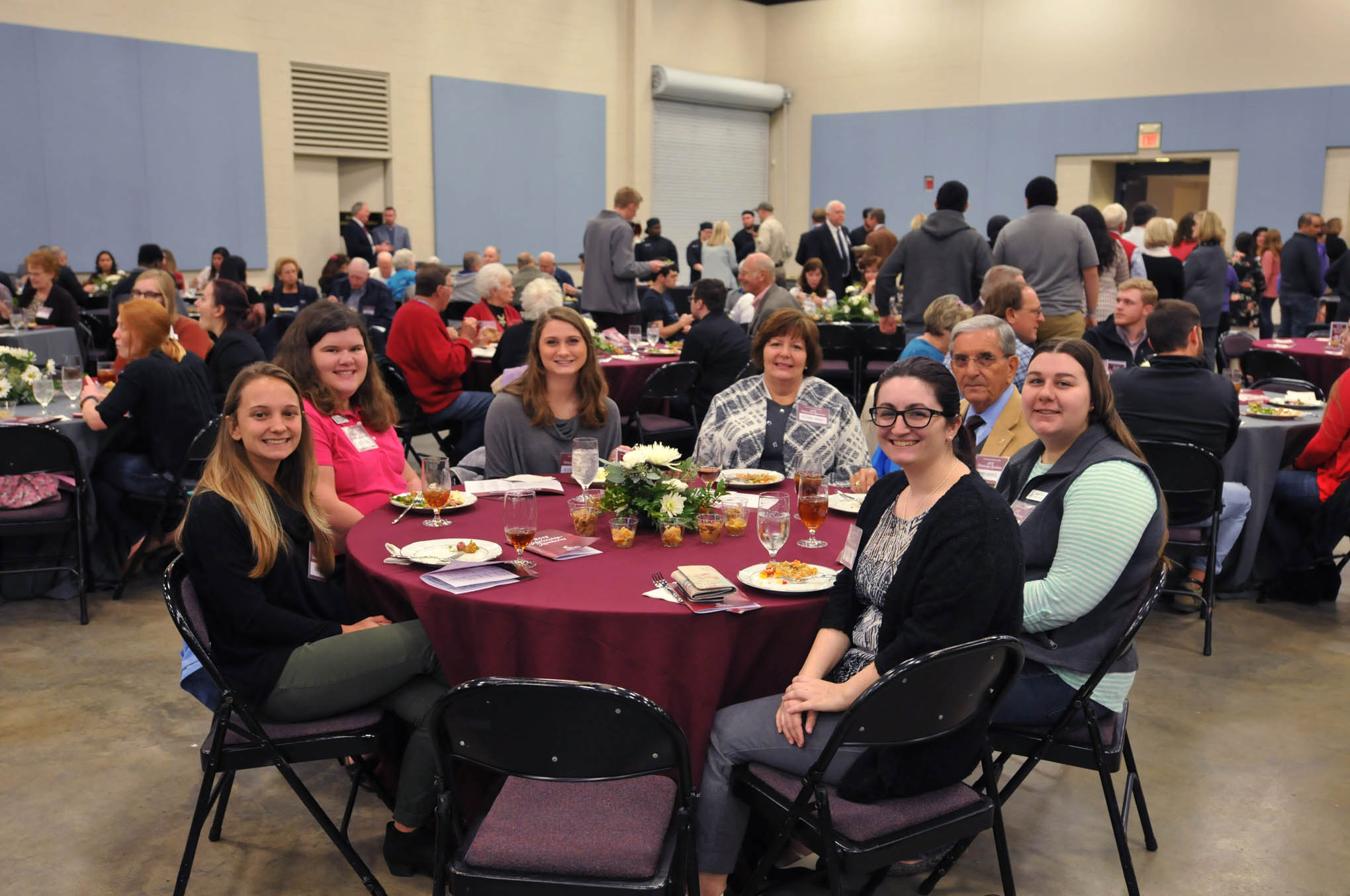 Click to enlarge,  Donors and scholarship recipients gathered for the Central Carolina Community College Foundation Scholarship Luncheon, which was held on Wednesday, Nov. 14, at the Dennis A. Wicker Civic & Conference Center.