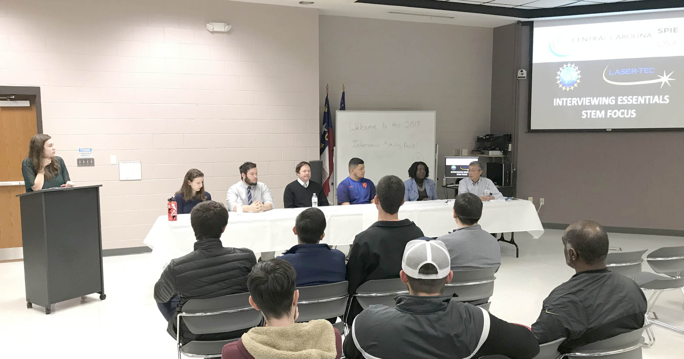 Read the full story, CCCC SPIE Student Chapter hosts 'Interviewing Skills Panel' event