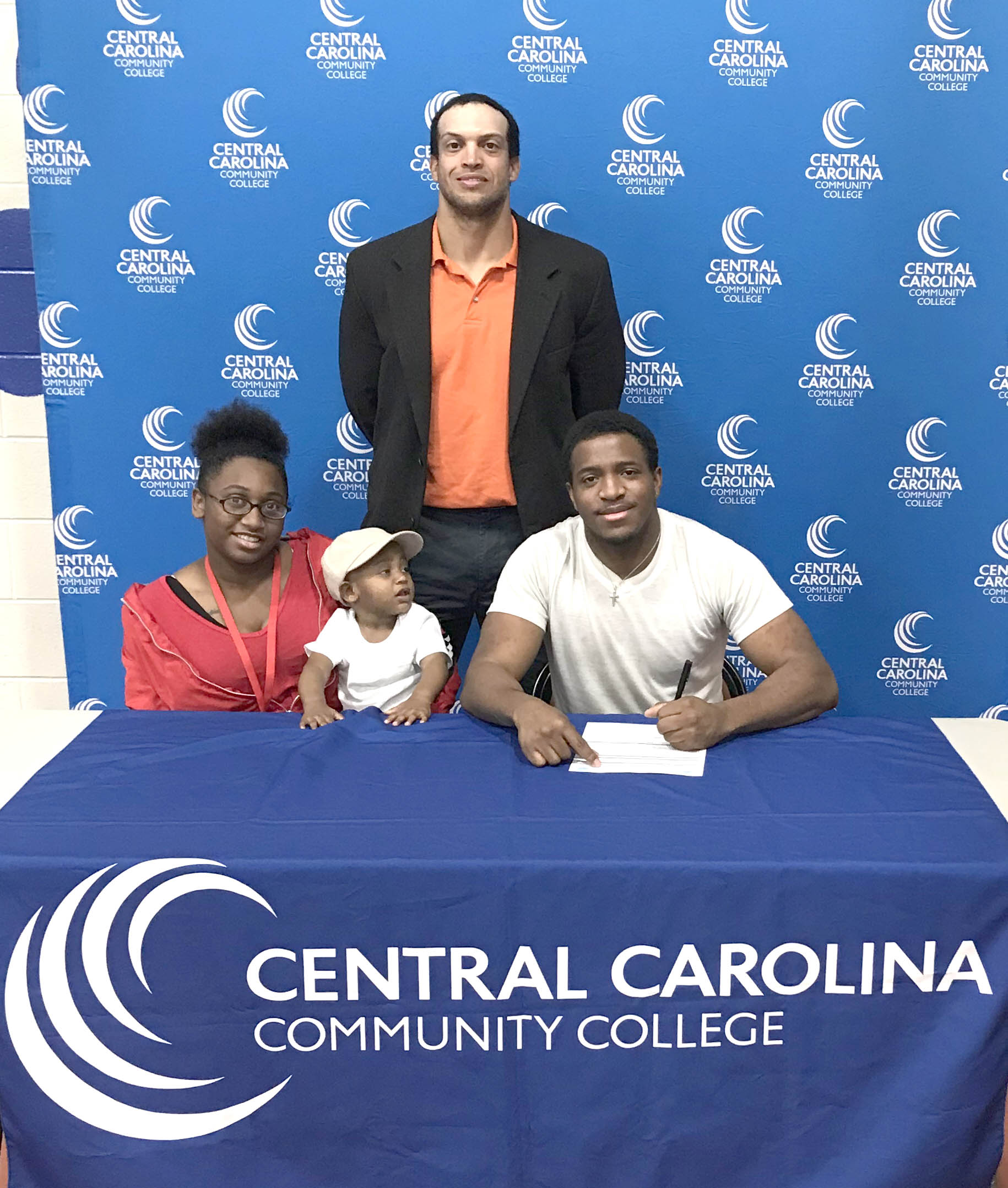 Read the full story, CCCC cross country signs Tyree Minor