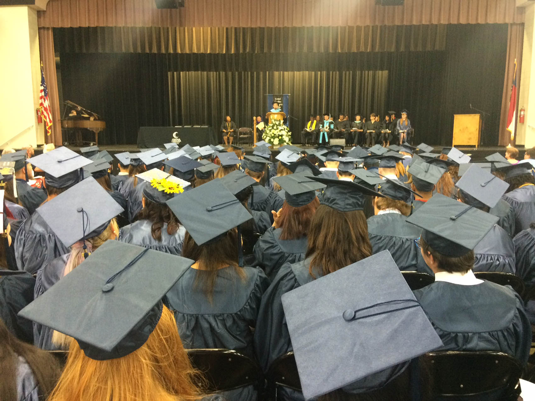 Click to enlarge,  Central Carolina Community College's College and Career Readiness Commencement Exercise was held May 14 at Dennis A. Wicker Civic & Conference Center, honoring the achievements of more than 160 students.