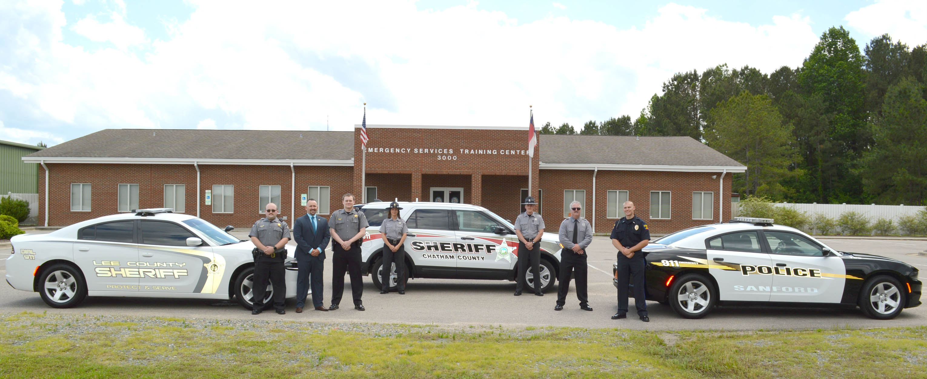 Click to enlarge,  Pictured are members of Central Carolina Community College's Basic Law Enforcement Training (BLET) Fall Night Class 2018-2019.  For more information about the college's BLET program, visit www.cccc.edu/blet or contact Robert Powell at rpowell@cccc.edu or 919-777-7774.