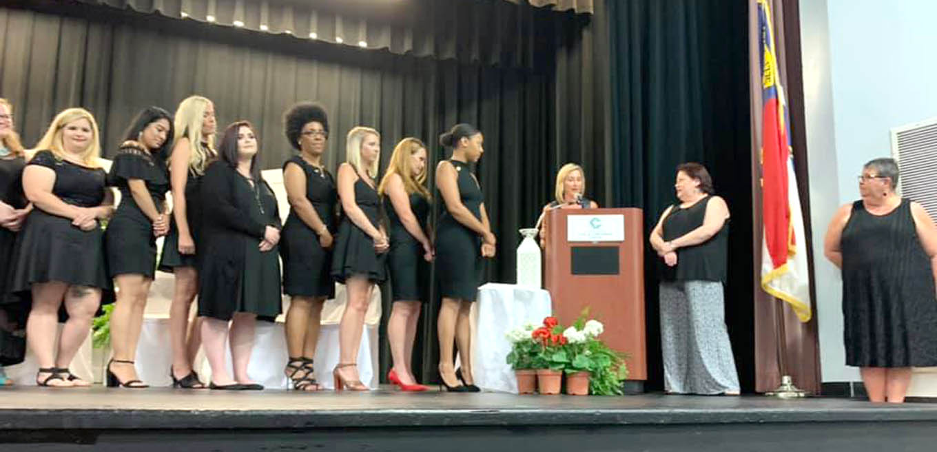 Read the full story, CCCC holds Medical Assisting Pinning Ceremony
