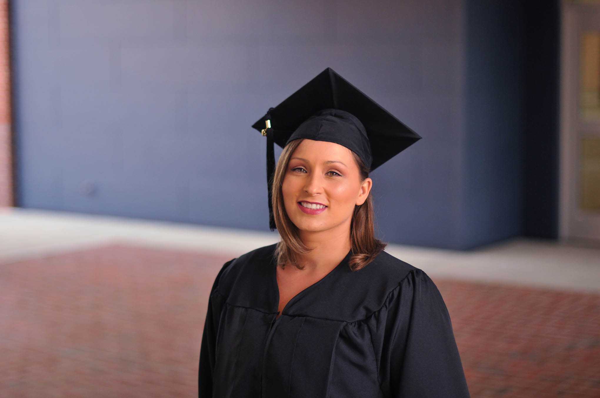 Click to enlarge,  Vida Marie Otero received a Finish Line Grant as she worked to complete her Associate of Applied Science Nursing at Central Carolina Community College.