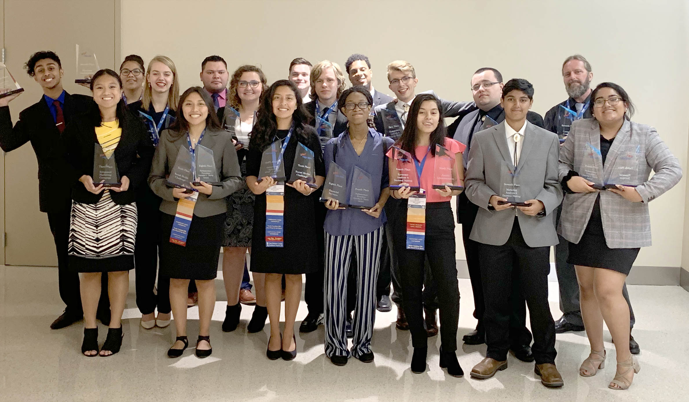 CCCC Phi Beta Lambda participates in PBL National Leadership Conference