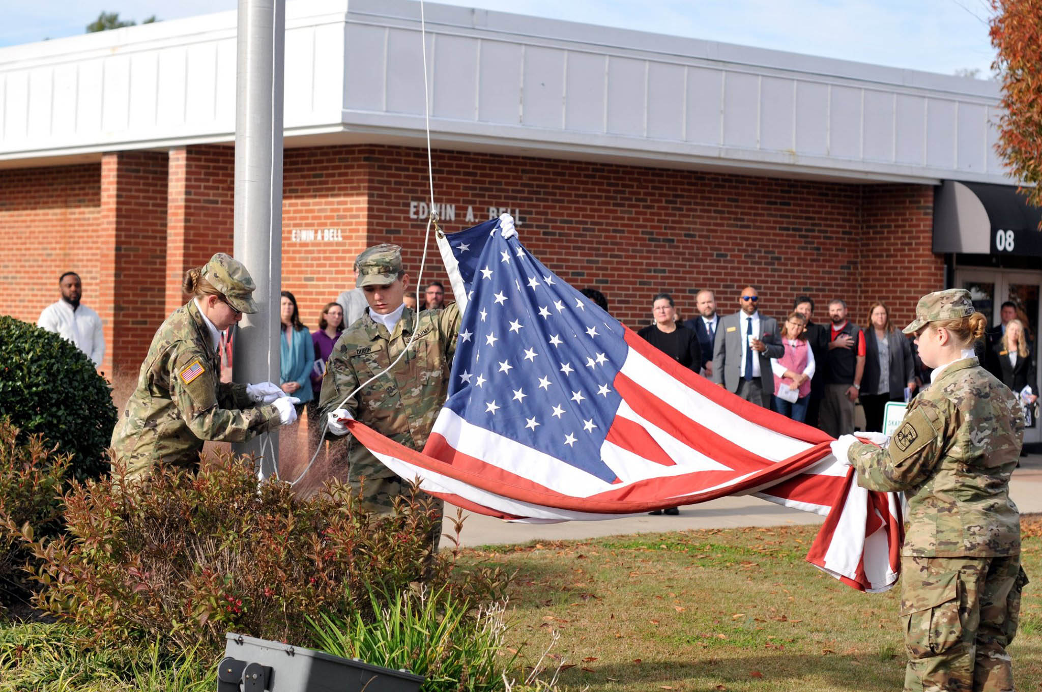 CCCC hosts Veterans Day Program