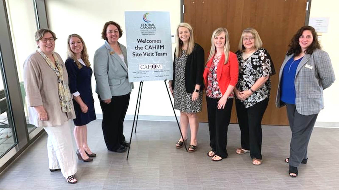 Read the full story, CCCC Health Information Technology receives accreditation