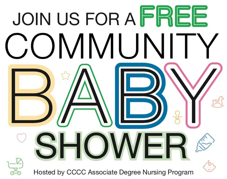 Community Baby Shower will be held April 23