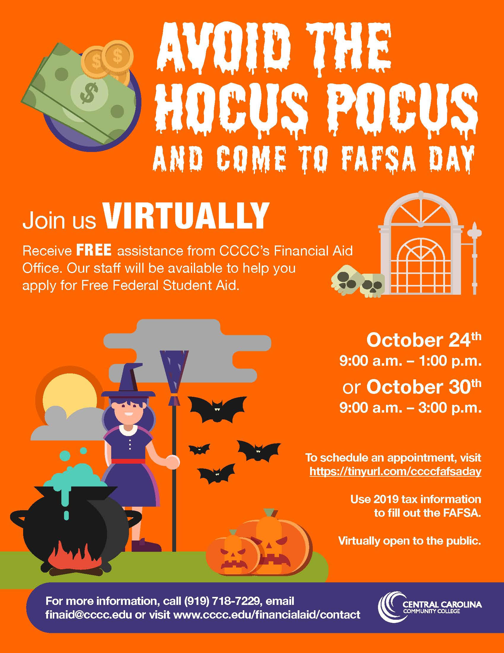 Read the full story, CCCC will host virtual FAFSA Days