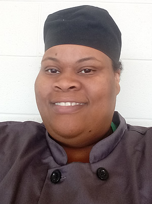 Click to enlarge,  Chef Regina Minter-Hargett