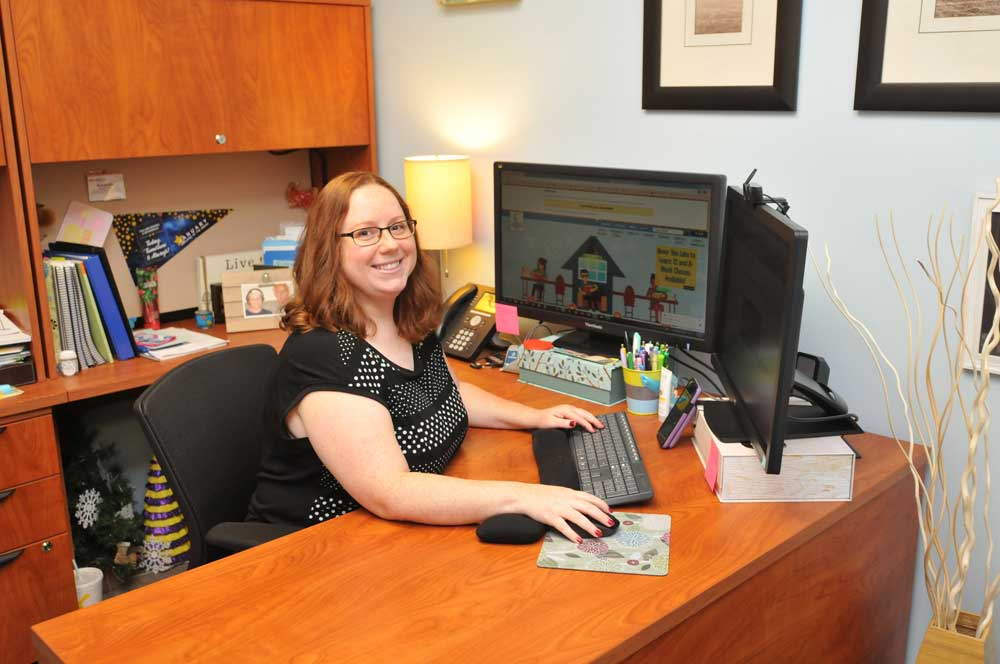 Read the full story, Amanda Carter named CCCC's Staff Member of the Year