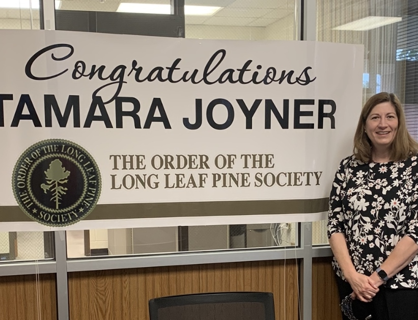 Read the full story, CCCC's Tamara Joyner awarded The Order of the Long Leaf Pine