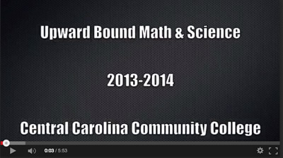 Upward Bound Math & Science 2013-2014 Video
