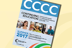 Continuing Education Summer Course Schedule