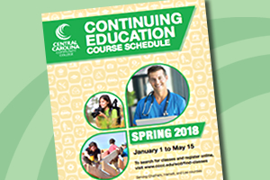 Continuing Education Spring Course Schedule